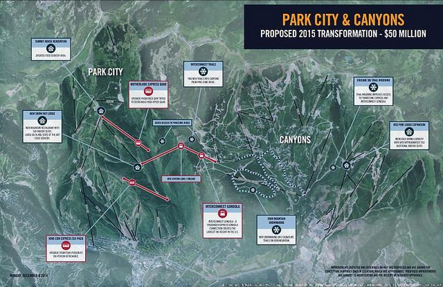 Vail Resorts Unveils $50 Million Plan To Link Canyons, Park City Mountain Terrain Next Summer - Ski Report, Ski Weather, Snow Conditions Worldwide - SnoNews