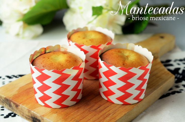 Mantecadas - briose mexicane