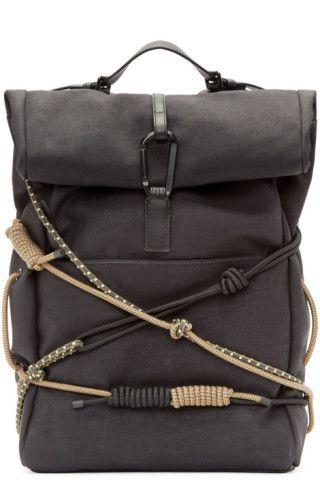 Designer Backpacks for Men | Online Boutique | SSENSE ~ Black Hiking Backpack