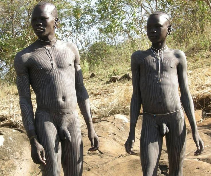 The Surma inhabit the southwestern part of Ethiopia with a population of about 200.000. It's a fierce culture, with a liking fo...