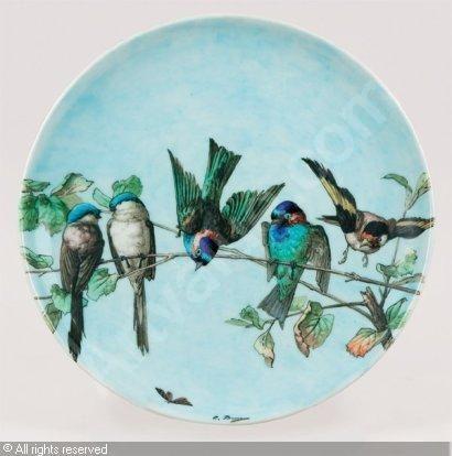 Ceramic by Théodore Deck.