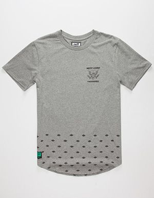 NEFF x Future Pluto Mens T-Shirt Grey