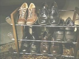 Golf Club Shoe Rack : Archive : Home & Garden Television