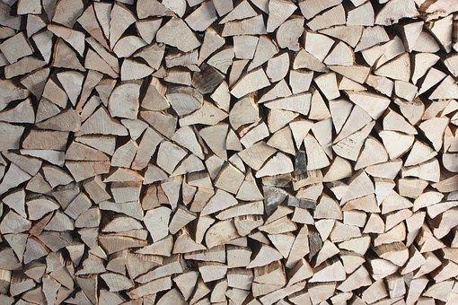 Стволы Деревьев, Вуд, Пожар