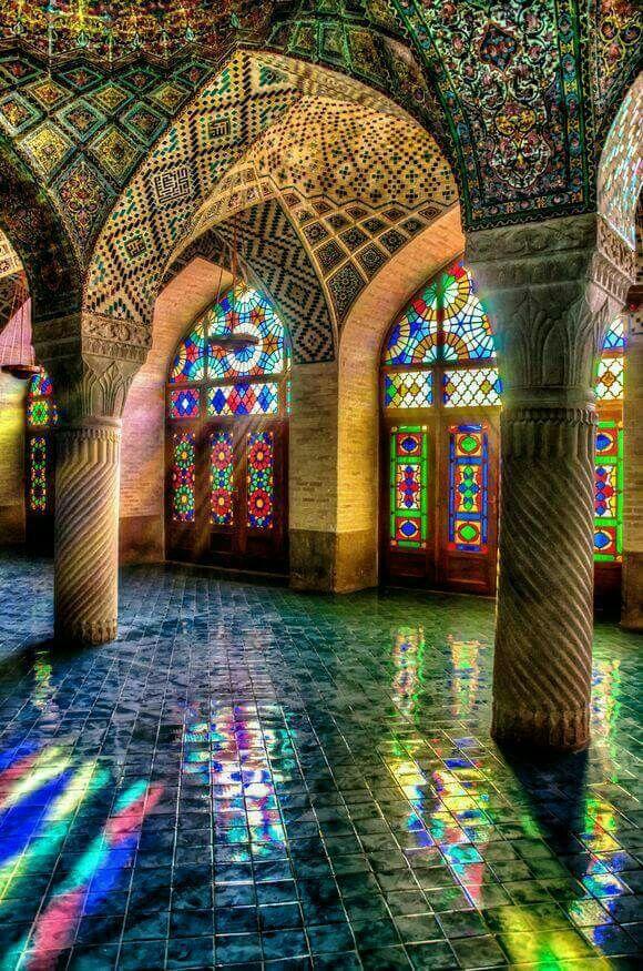 Nasir ul Mulk Masjid, Shiraz, Iran