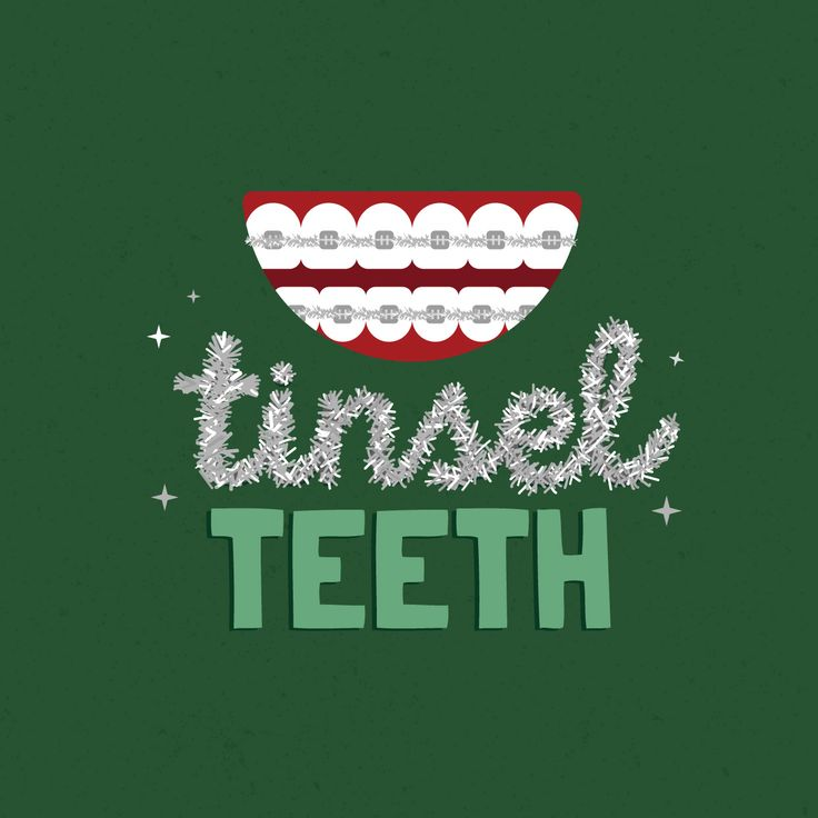 ARE YOU FEELING FESTIVE with your tinsel teeth? December is one of the best times of the year to wear your braces with pride!