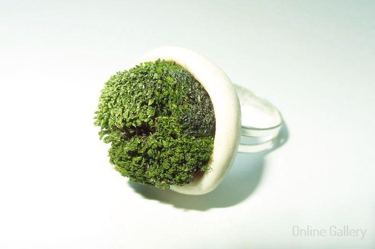 Inel handmade eco-chic | Online Gallery - Galerie online de arta, handmade si obiecte decorative unicat