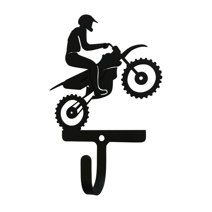 NEW - Dirt Bike - Wall Hook Small