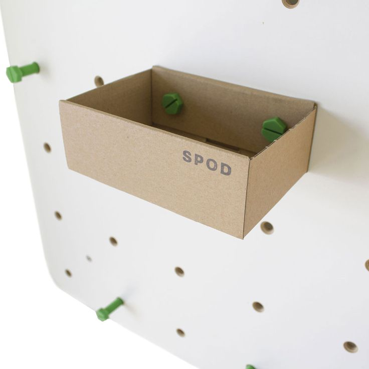 SCHRAUB box gives you small additional storage for loose stuff