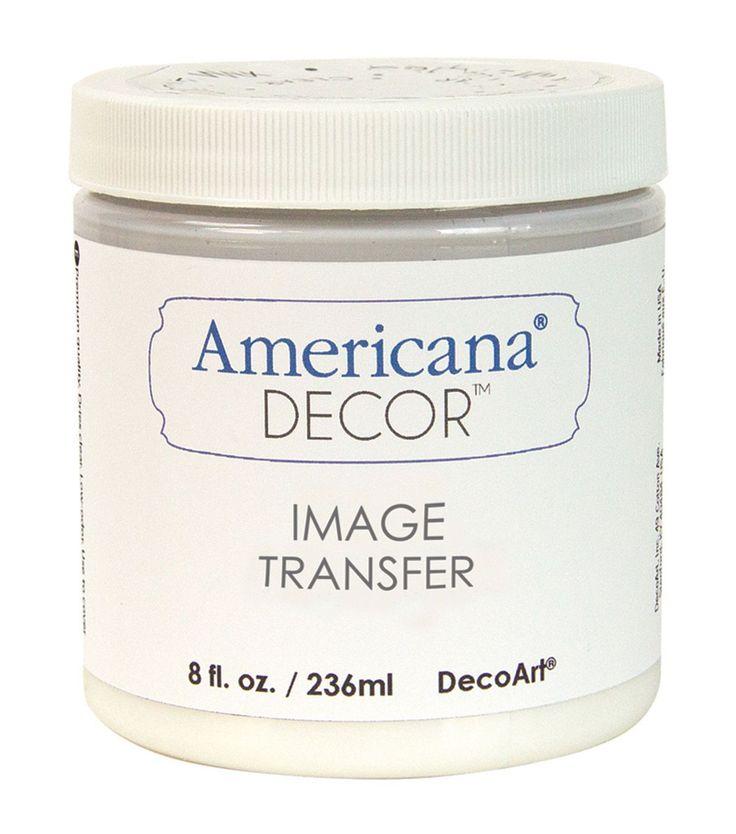 Decoart Clear - Image Transfer Medium 8oz