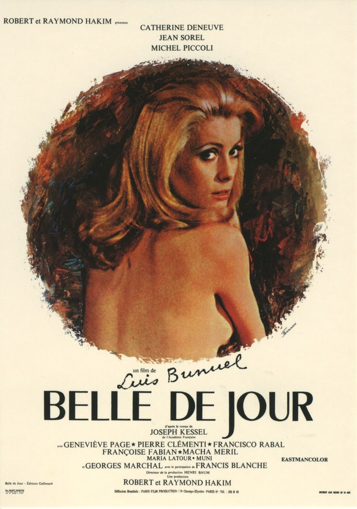 Belle de Jour, by Luis Bunuel with Catherine Deneuve # french movie # pelicula francesa # cinema