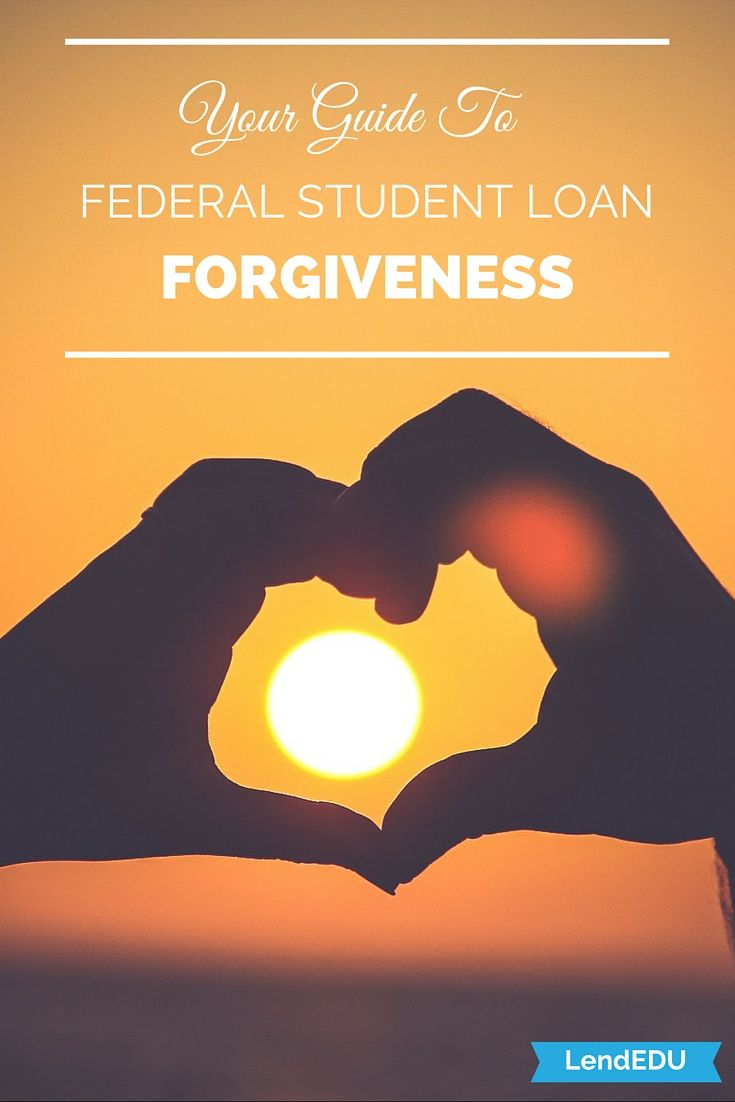Your guide to federal student loan forgiveness!