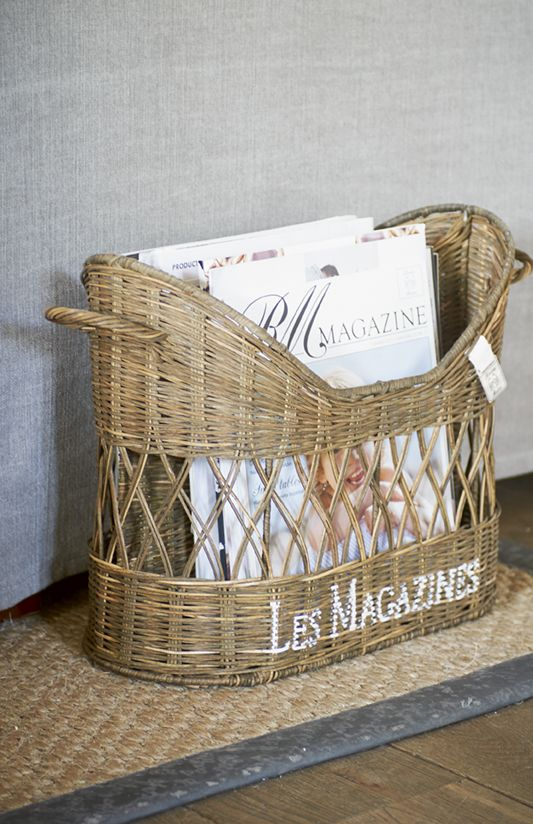 RR French Magazine Holder - Rivièra Maison