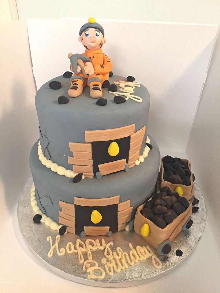 Торт с днем шахтера картинки