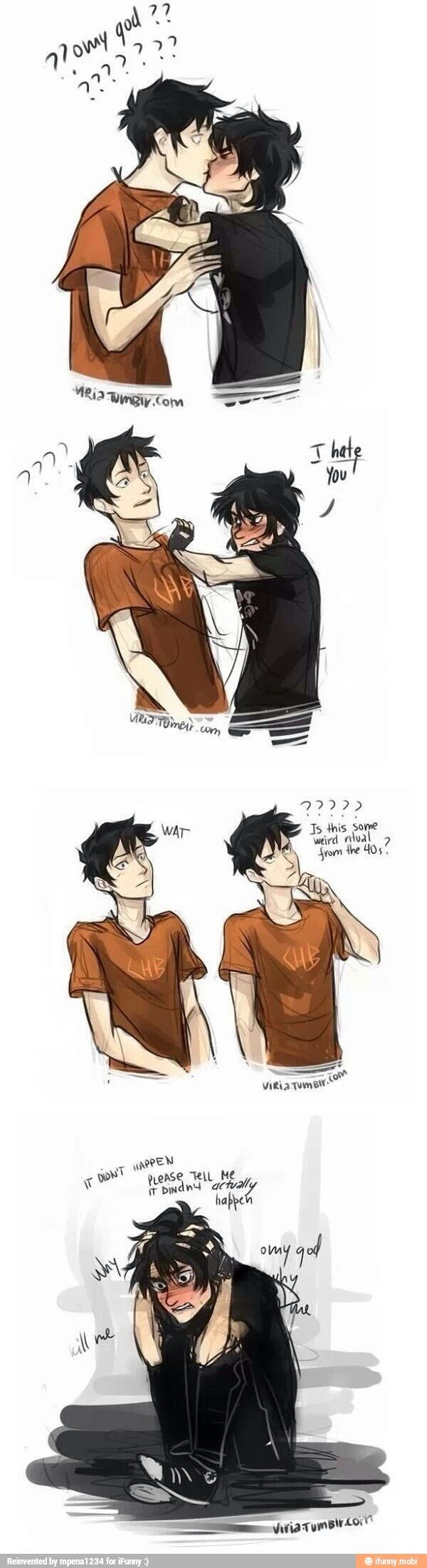 I don't ship Percico but i love this and Nico needs to find someone just like Percy