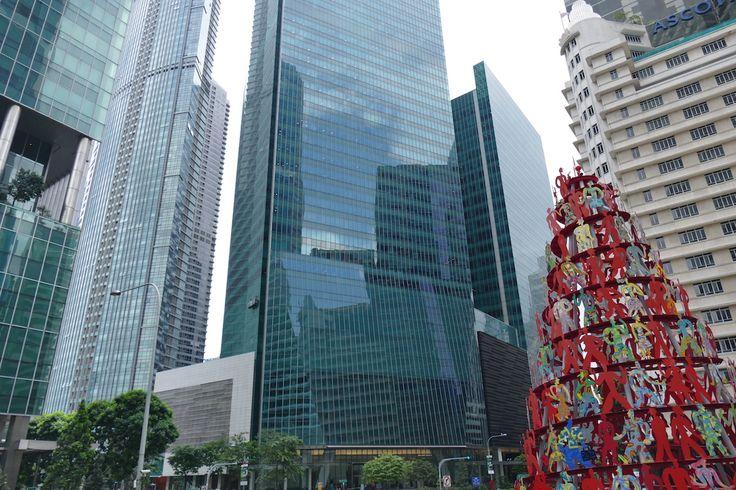 Singapur, Downtown