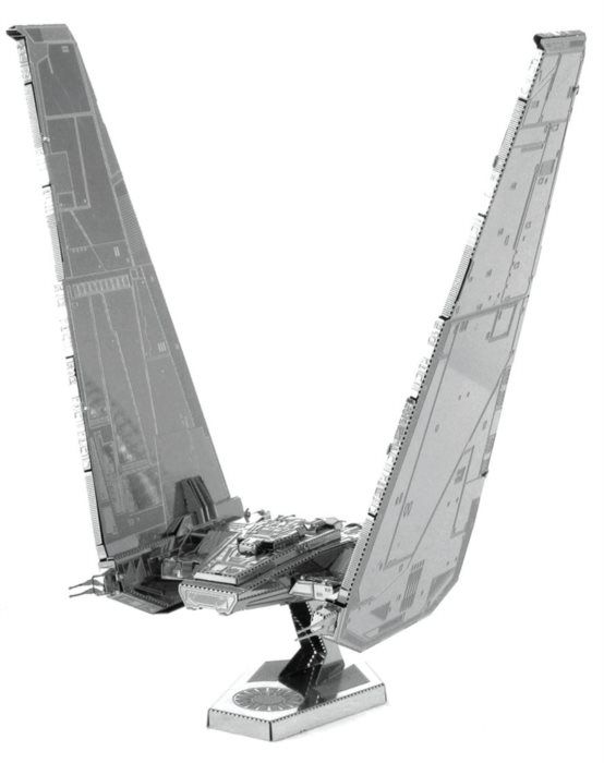 3D kovové puzzle METAL EARTH Star Wars: Kylo Ren's command shuttle