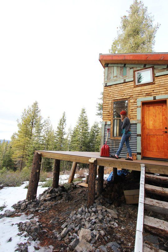 Tim and Hannah's Affordable DIY Self-Sustainable Micro Cabin — House Tour