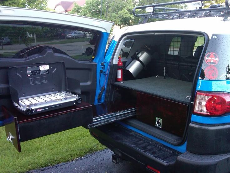 Love to build something like this for the rear of my FJ