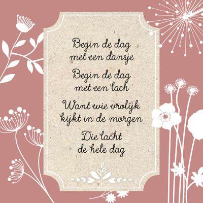 Begin de dag met een dansje...