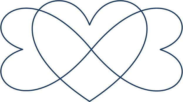 I think this will be my next tattoo. A triple heart infinity. In white ink. I even designed it myself!!