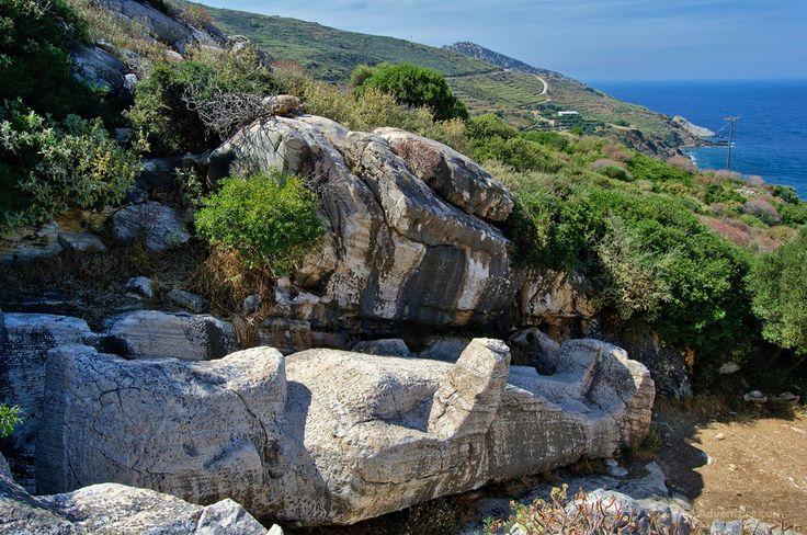 The Kouros of Apollonas - Naxos Greece