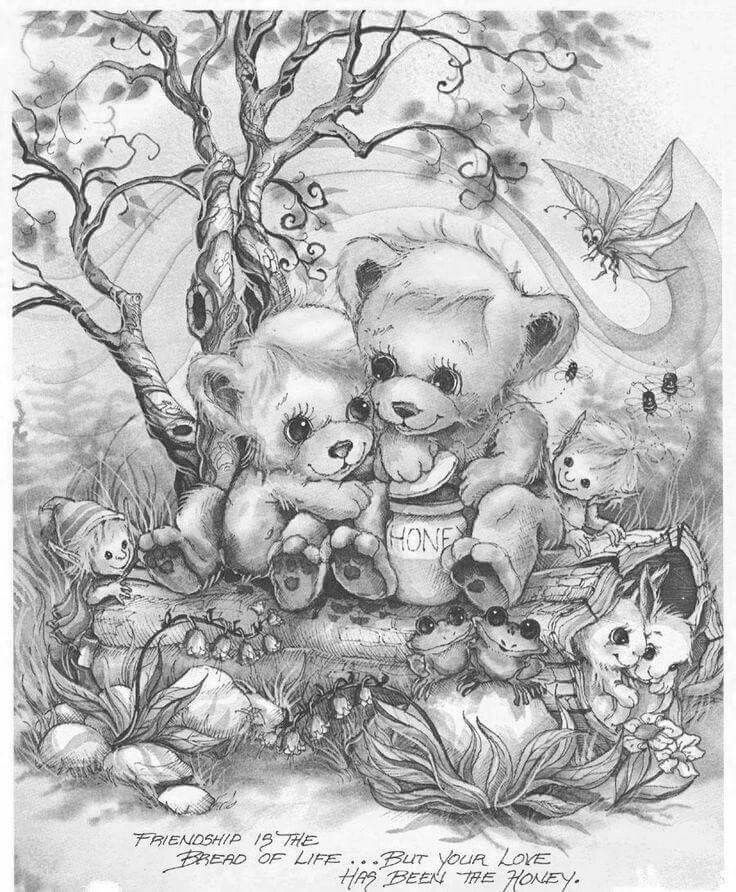 1353 best images about Printable grayscale coloring pages ...