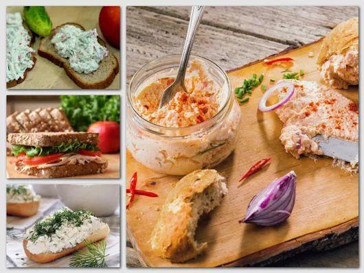 A 10 legfinomabb alapkrém szendvicsekhez (szendvicskrémek)!