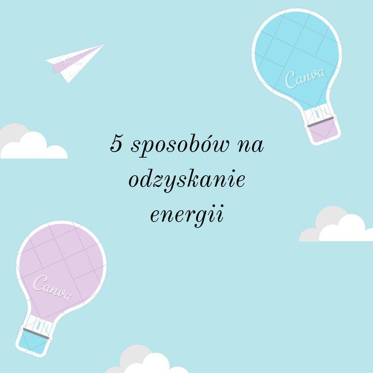 Audrey Cafe: 5 sposobów na odzyskanie energii
