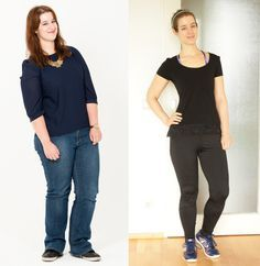 Es geht auch ohne Diät! SO hat Carina 30 kg abgenommen