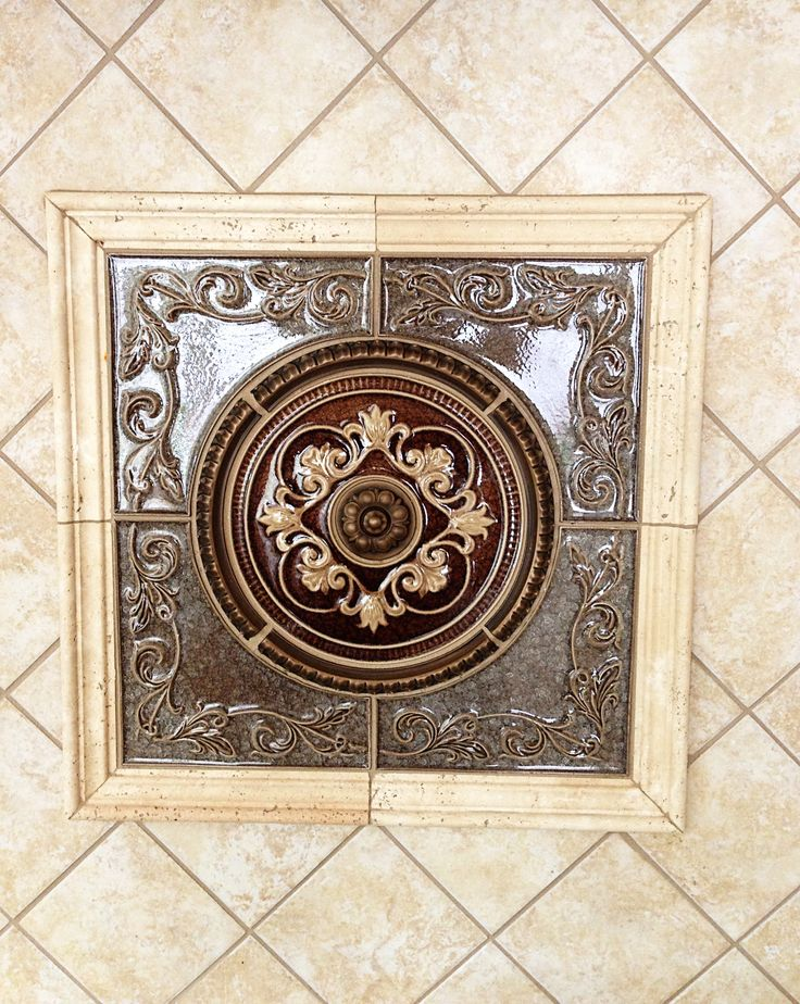 kitchen tile medallions 52 best images about kitchen on 5 light 3265