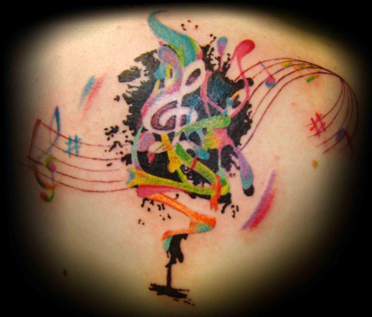 music-tattoo