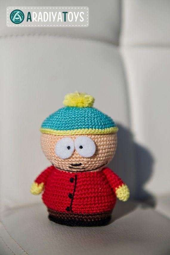 Amigurumi Cartman : Crochet Pattern of Eric Cartman from