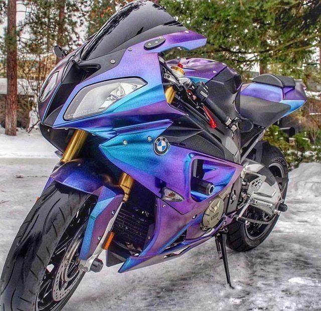 Pin By Dione Deborah On Bikes Bmw S1000rr Purple Motorcycle Blue Motorcycle