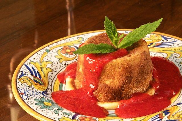 For Mother's Day dessert: Budino di ricotta (Ricotta Pudding)