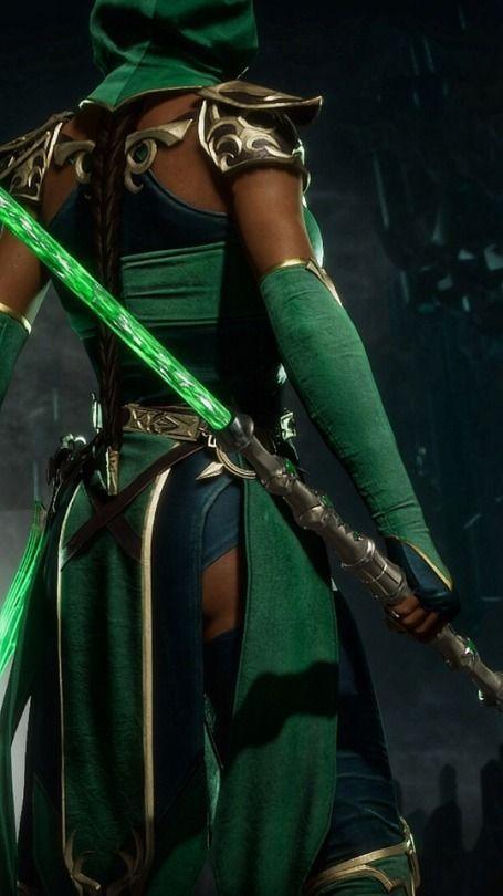 Mk Mortalkombat Mortalkombat11 Fantasy Jade Girls Green