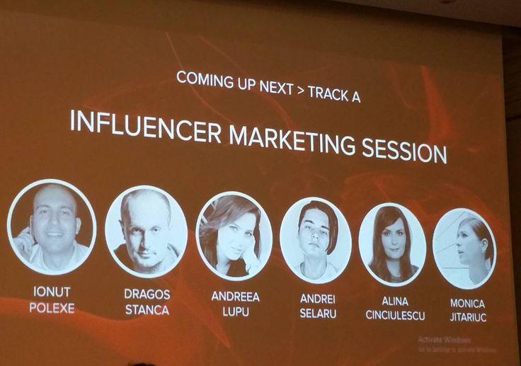 #webstockro Influencer Marketing Session! Sa inceapa intrebarile:)