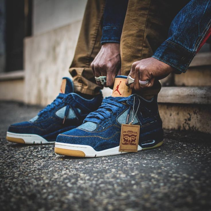 Levis x Nike Air Jordan 4 Retro - 2018 (by soggiu23)