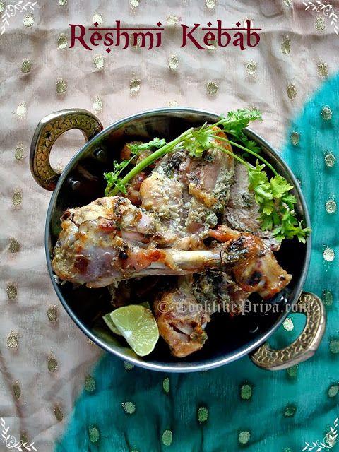 Oven baked Reshmi Kebab | Chicken Starter Recipe