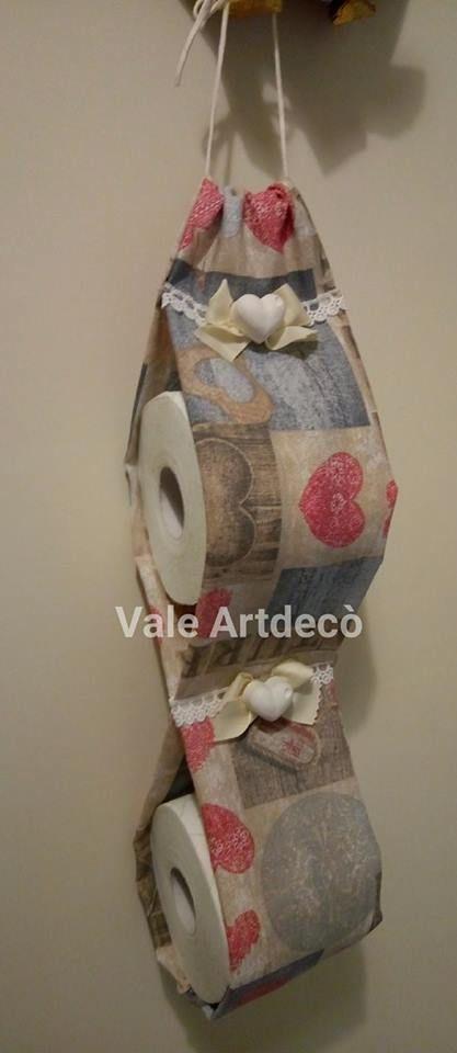 portarotoli di carta igienica #cucitocreativo #portarotoli