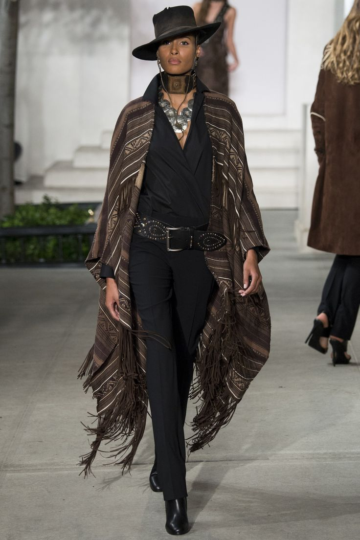 Ralph Lauren Fall 2016 Ready-to-Wear Fashion Show - Cindy Bruna