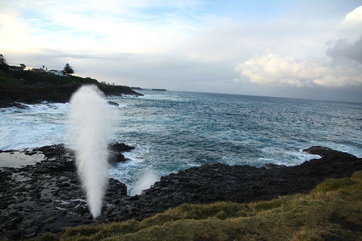 Grand Pacific Drive - Kiama Little Blowhole
