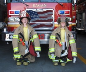 Does your child's school have fire safety equipment?
