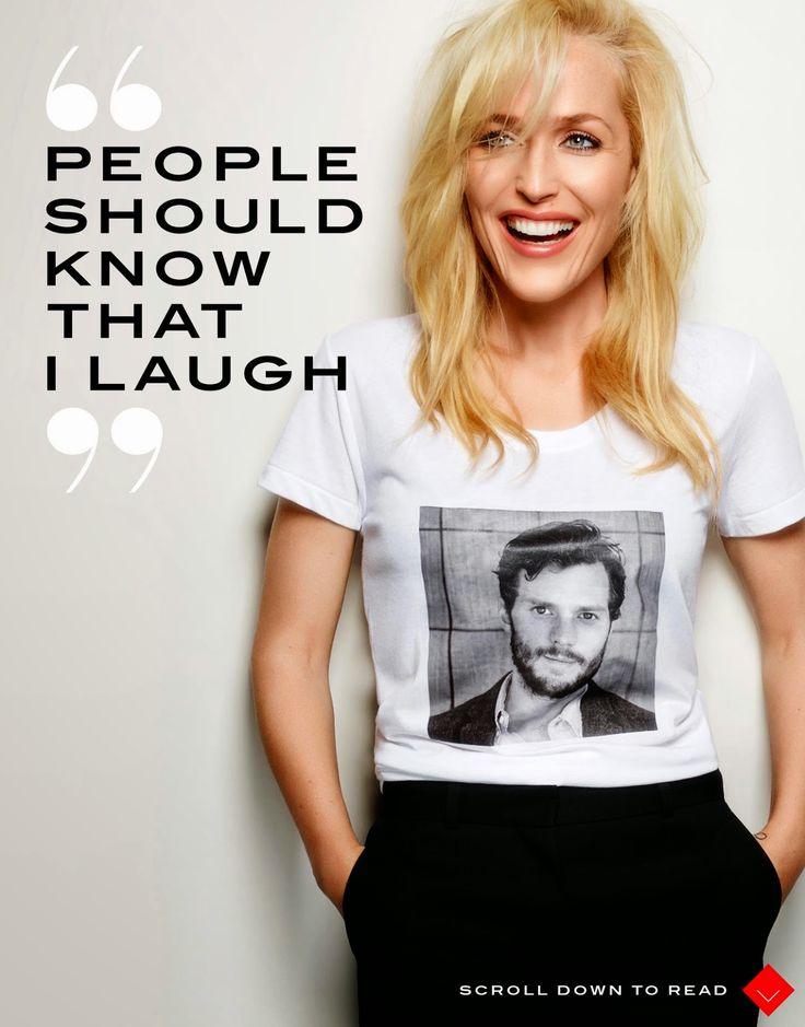 Jamie Dornan Life :: Gillian's T-Shirt FOR THE WIN