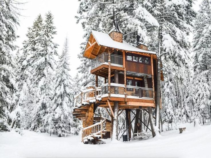 They're remote, high up in the trees, on the edge of a cliff, or built to seamlessly blend in with their natural environments: These homes and villas will up your adventure vacation game over the course of just a single night—and they're all available to rent.