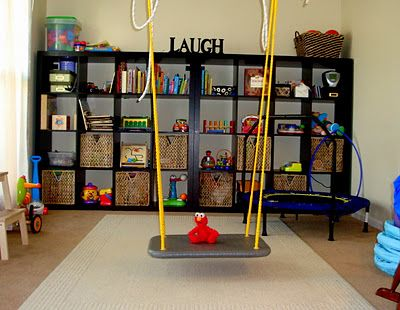 """Awesome sensory room found on the blog """"Red Letter Living"""""""