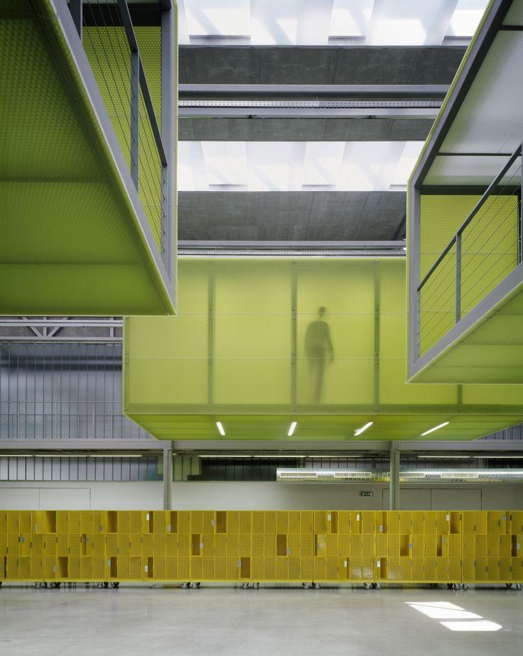 Atrium D Stavební fakulty ČVUT | VYŠEHRAD atelier