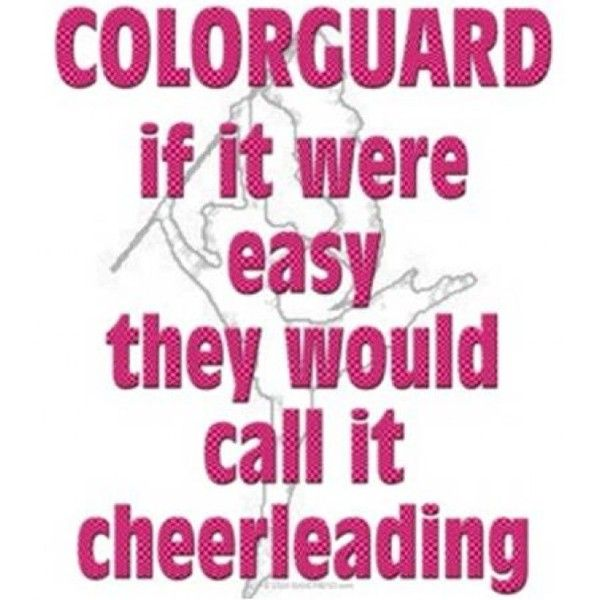 color guard quote/icon clipped by happy sun! :) found on Polyvore