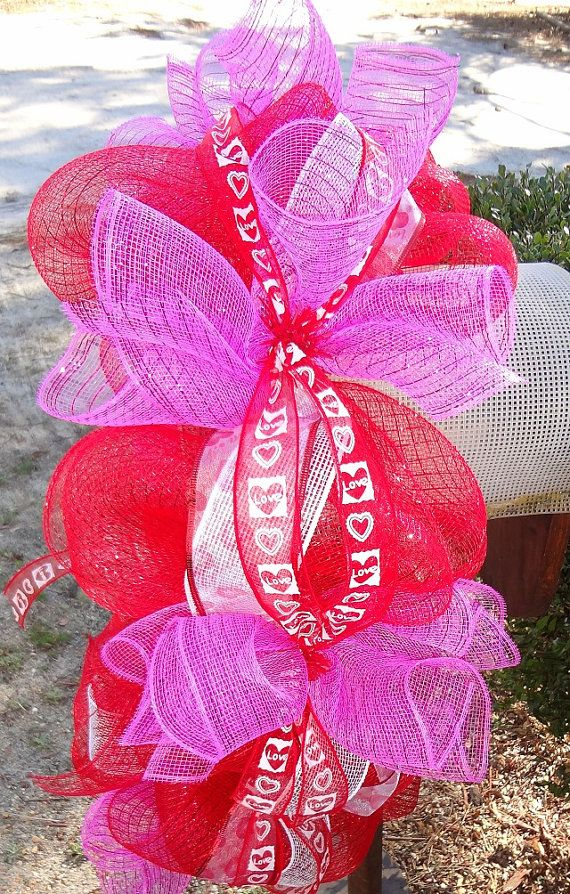 1000+ images about Mailbox Decor on Pinterest | Deco mesh, Spirals and ...