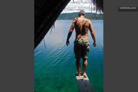Check out this awesome listing on Airbnb: Magical reef cabin awaits you in Bocas del Toro District - Get $25 credit with Airbnb if you sign up with this link http://www.airbnb.com/c/groberts22